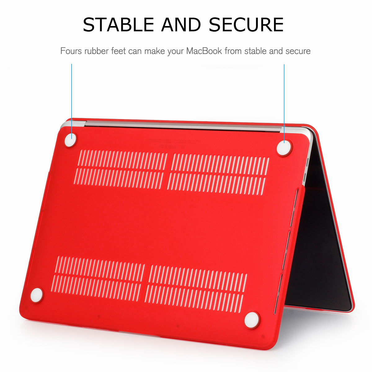 """Rubberized Hard Laptop Shell Case Cover For MacBook Air 11/"""" Pro 13//15/"""" Retina 12"""
