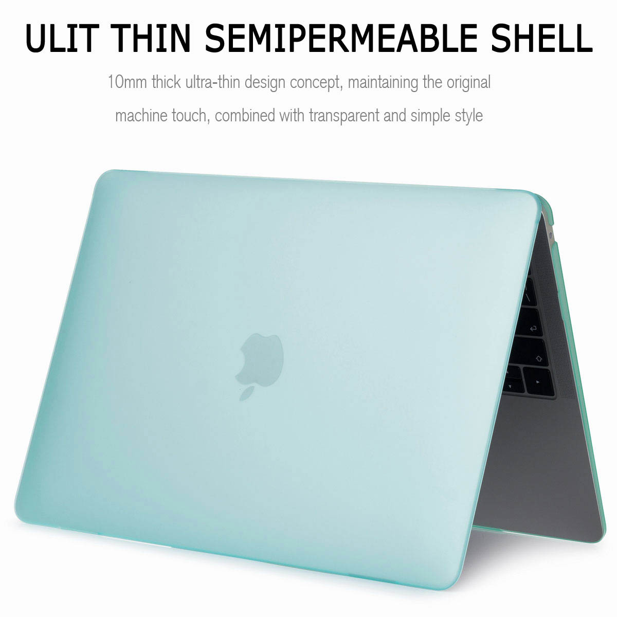 For Macbook Air 13 Inch 2018 A1932 Matte Rubberized Shockproof Shell Cover Case