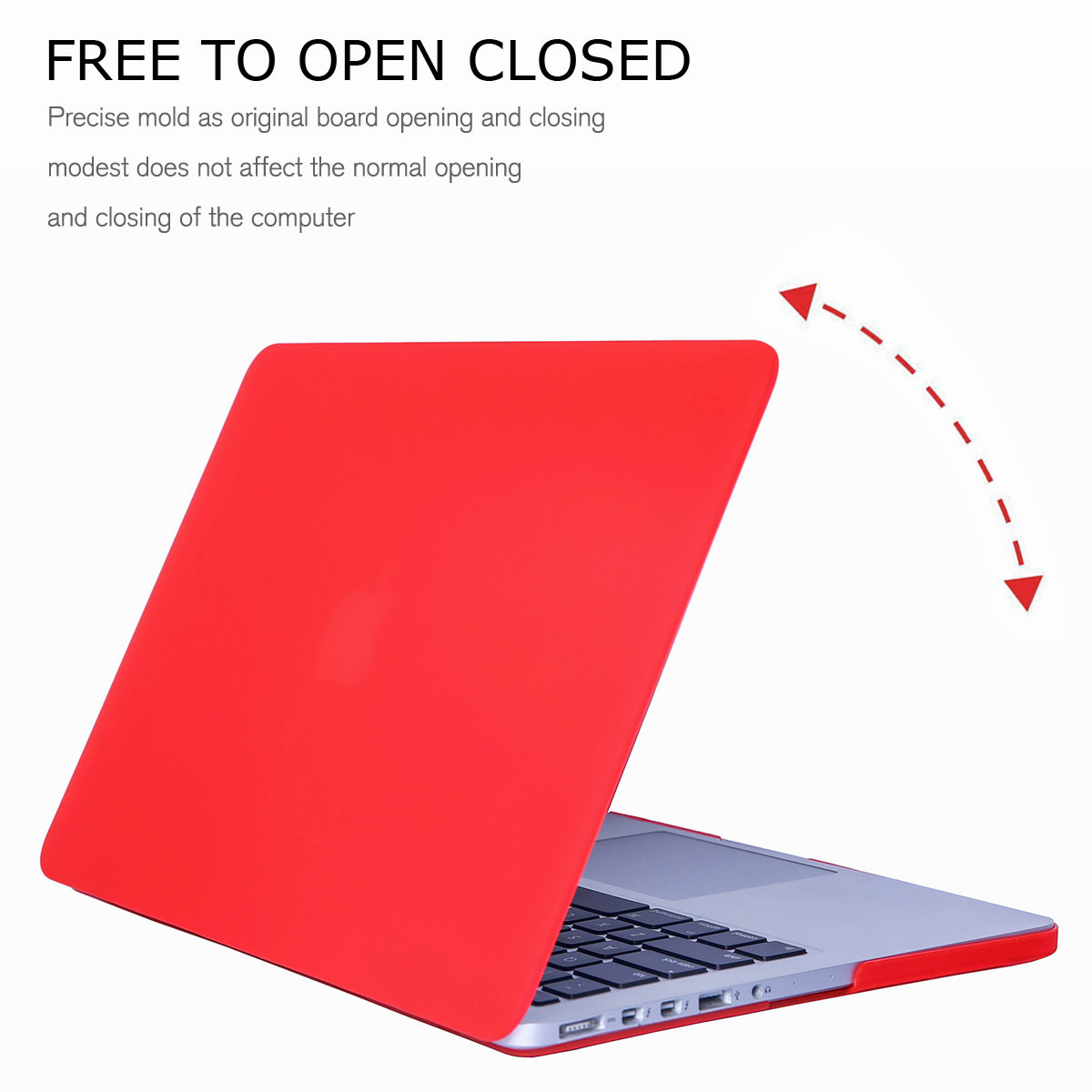 "Hard Frosted Rubberized Shell Case Cover For Macbook Retina 15.4/"" 13.3/"" 12/"""
