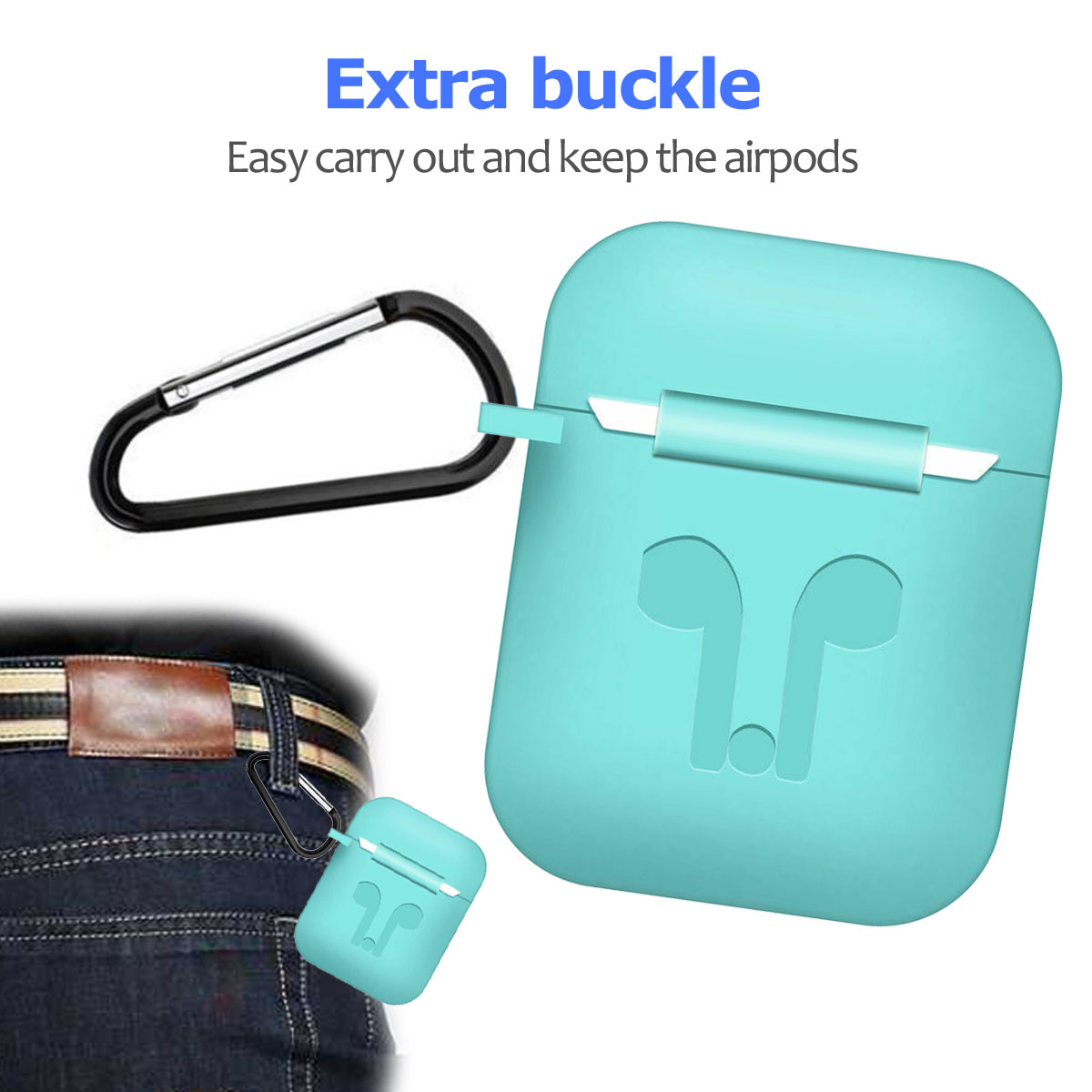 Silicone-Ruggged-Case-Cover-Earbuds-For-Apple-AirPods-2nd-Gen-Accessories-2019 thumbnail 43