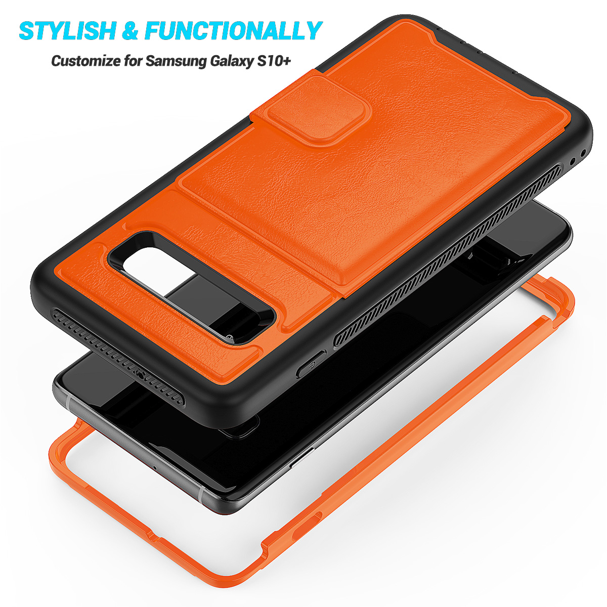 PU-Leather-Credit-Card-Holder-Phone-Case-For-Samsung-Galaxy-S10-Plus-S10e-2019 thumbnail 21