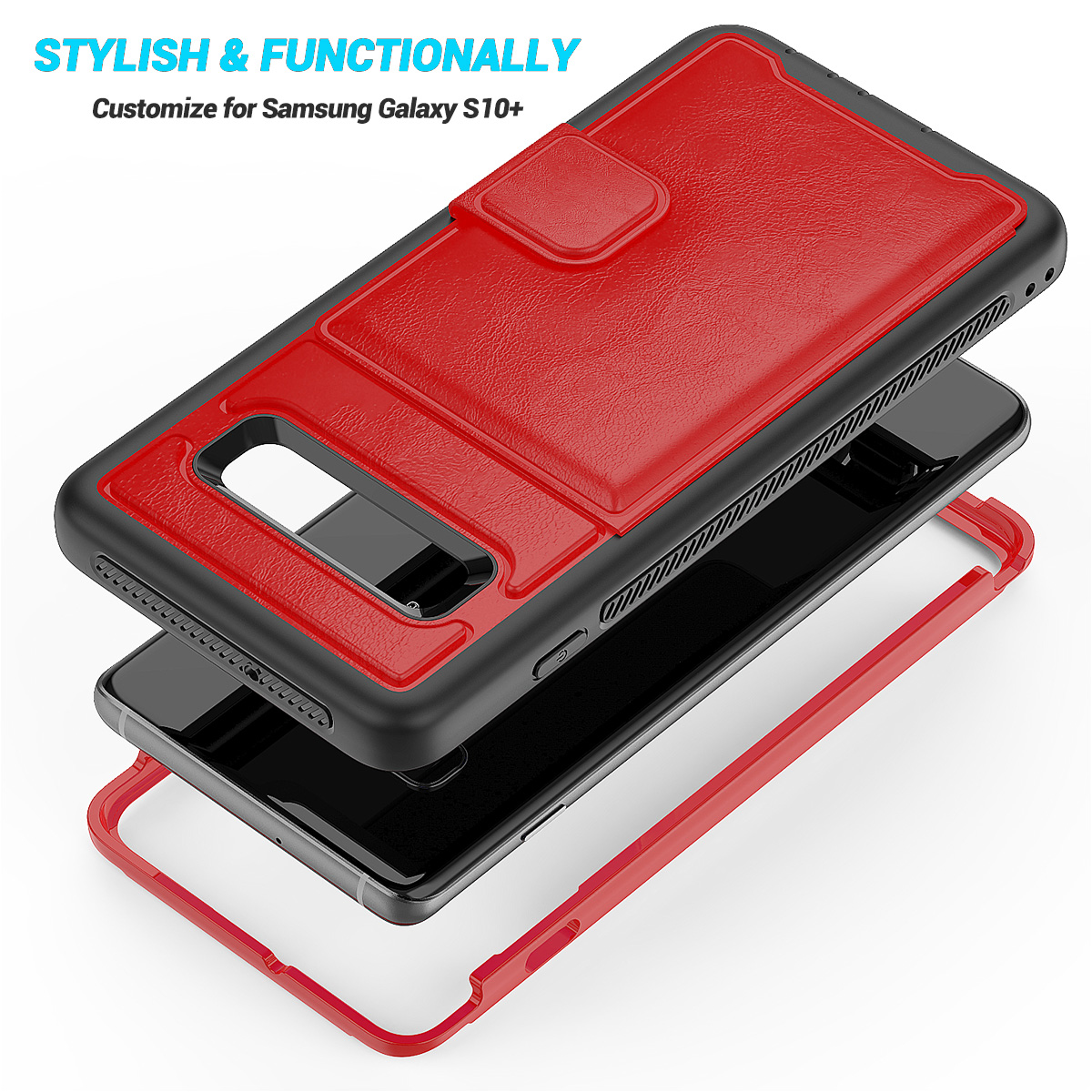 PU-Leather-Credit-Card-Holder-Phone-Case-For-Samsung-Galaxy-S10-Plus-S10e-2019 thumbnail 26