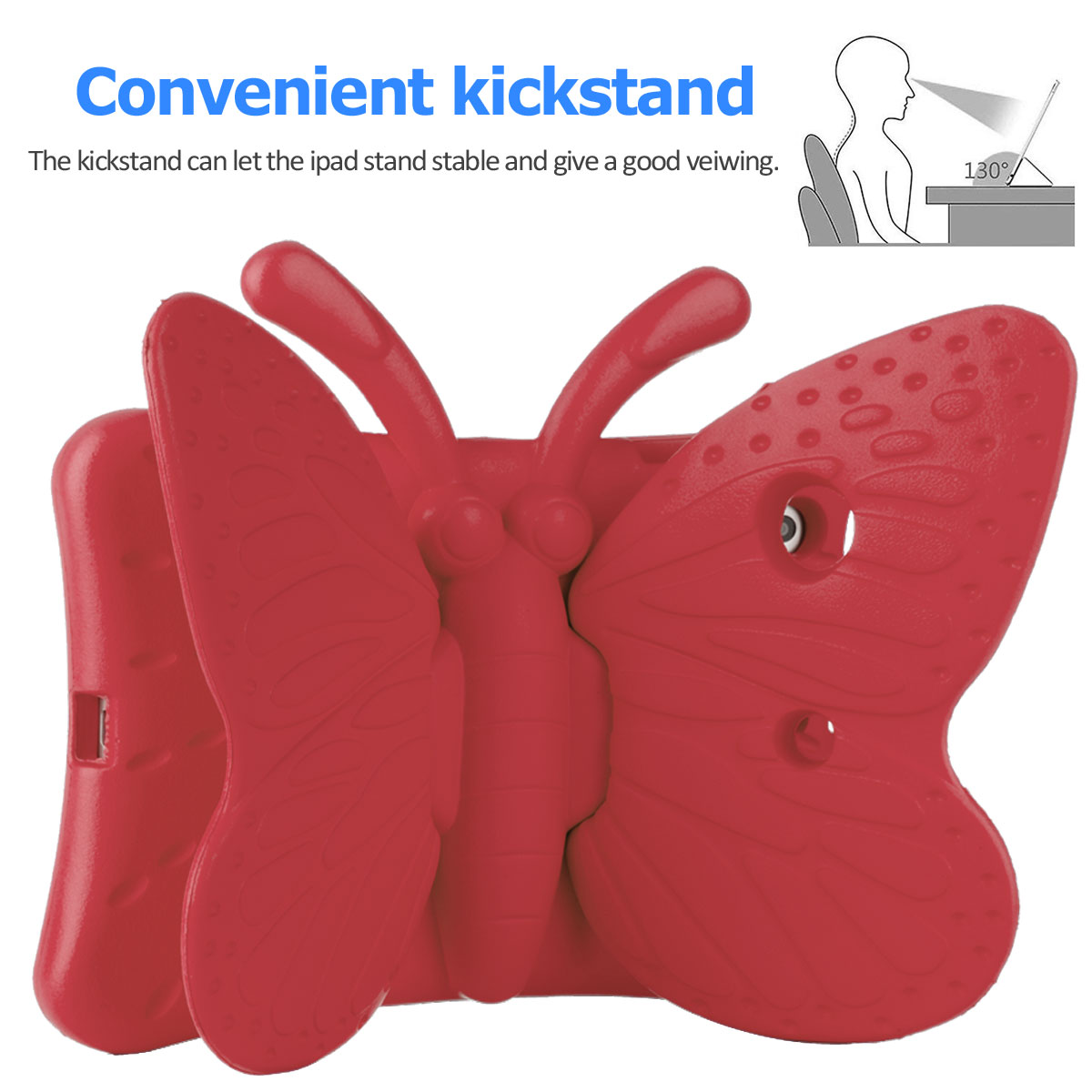 Kids-Safe-EVA-Foam-Stand-Shockproof-Case-Cover-For-Apple-iPad-9-7-6th-Gen-A1893 thumbnail 22