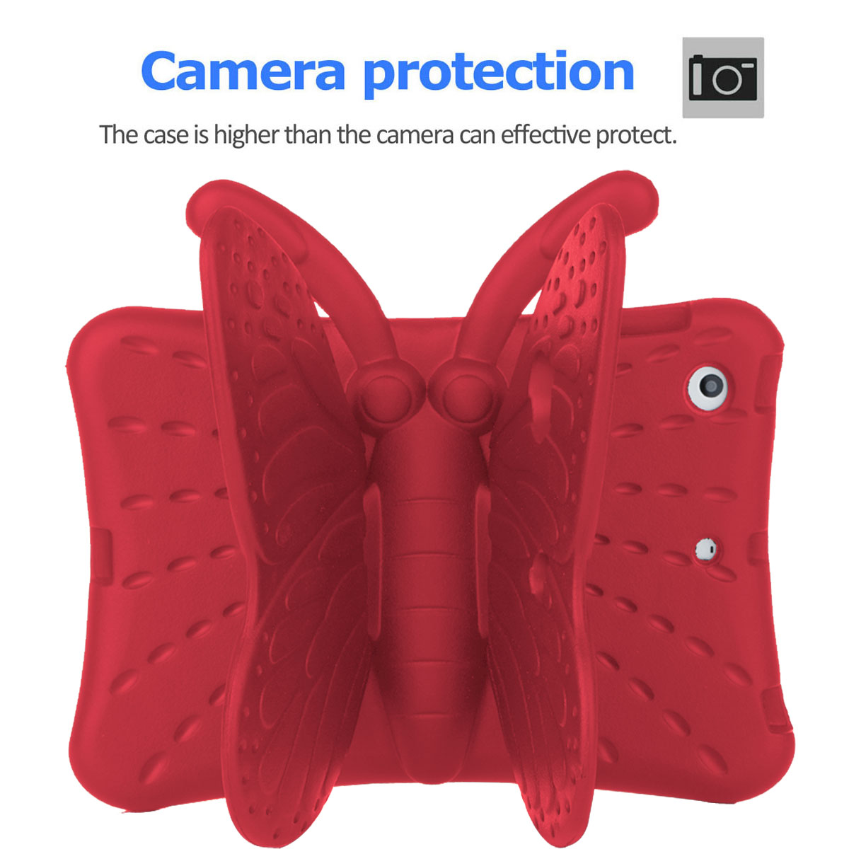 Kids-Safe-EVA-Foam-Stand-Shockproof-Case-Cover-For-Apple-iPad-9-7-6th-Gen-A1893 thumbnail 24