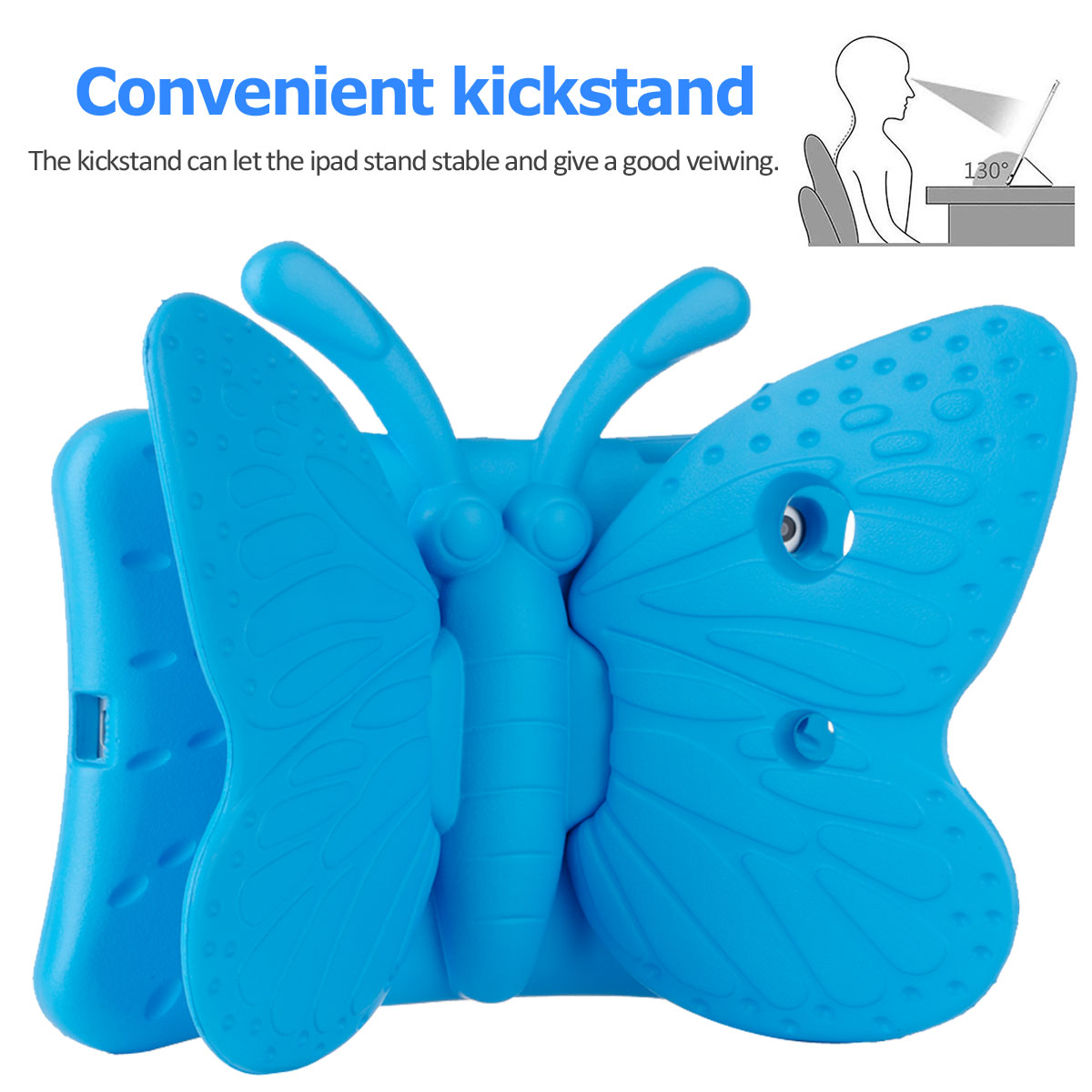 Kids-Safe-EVA-Foam-Stand-Shockproof-Case-Cover-For-Apple-iPad-9-7-6th-Gen-A1893 thumbnail 36