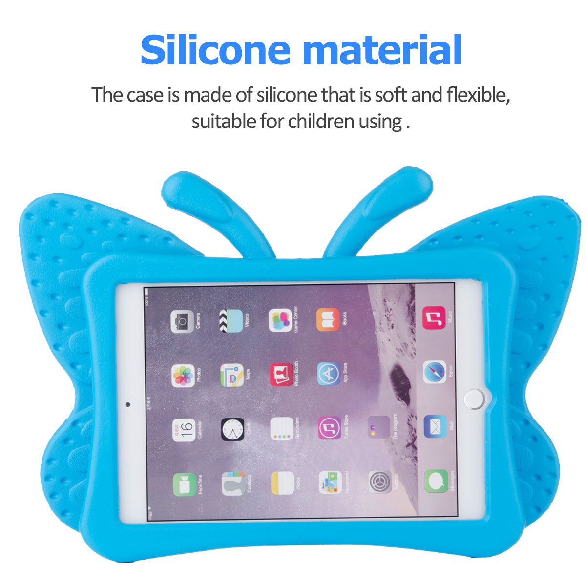 Kids-Safe-EVA-Foam-Stand-Shockproof-Case-Cover-For-Apple-iPad-9-7-6th-Gen-A1893 thumbnail 39