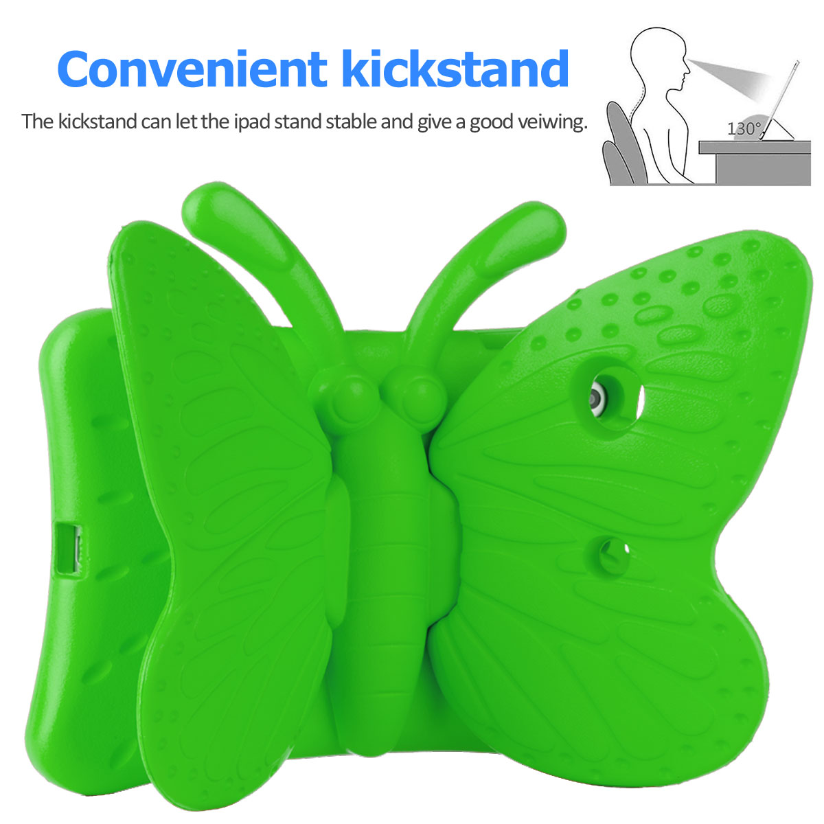 Kids-Safe-EVA-Foam-Stand-Shockproof-Case-Cover-For-Apple-iPad-9-7-6th-Gen-A1893 thumbnail 43