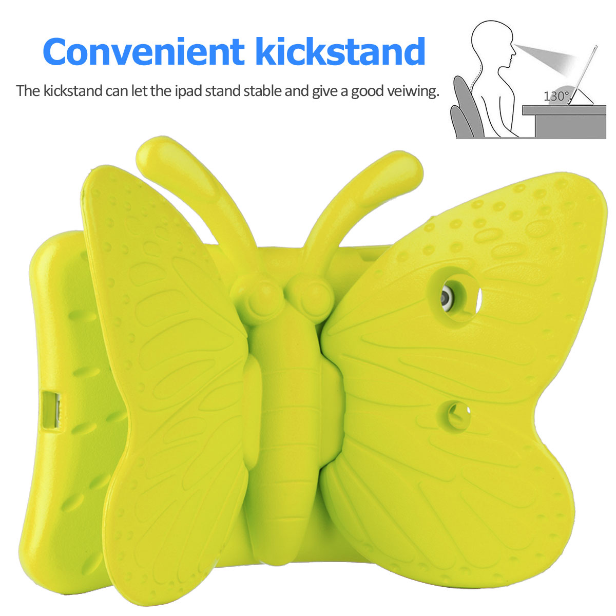 Kids-Safe-EVA-Foam-Stand-Shockproof-Case-Cover-For-Apple-iPad-9-7-6th-Gen-A1893 thumbnail 50