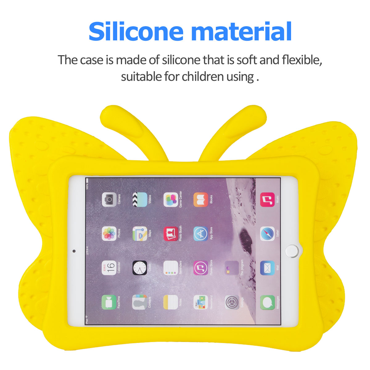 Kids-Safe-EVA-Foam-Stand-Shockproof-Case-Cover-For-Apple-iPad-9-7-6th-Gen-A1893 thumbnail 53