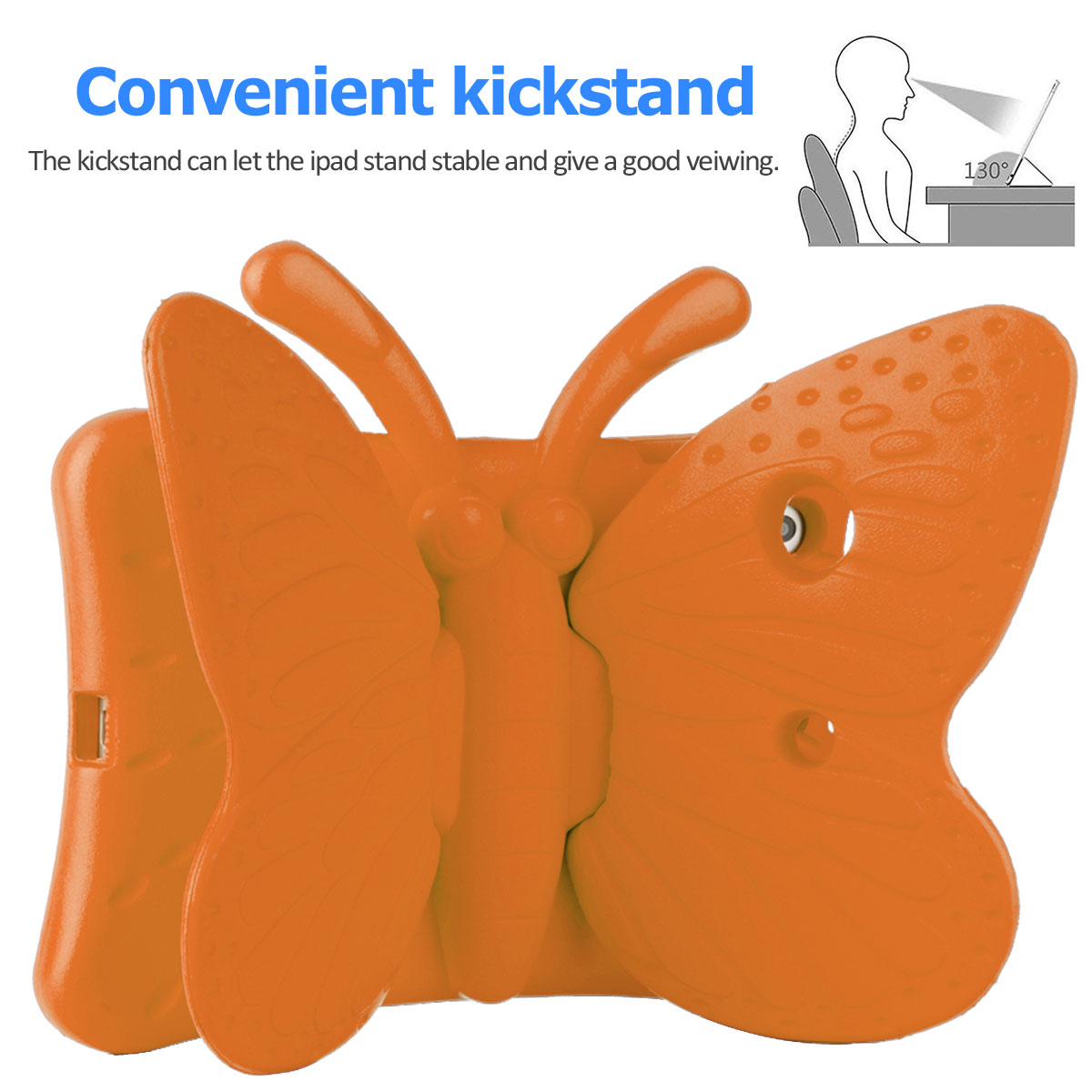Kids-Safe-EVA-Foam-Stand-Shockproof-Case-Cover-For-Apple-iPad-9-7-6th-Gen-A1893 thumbnail 64