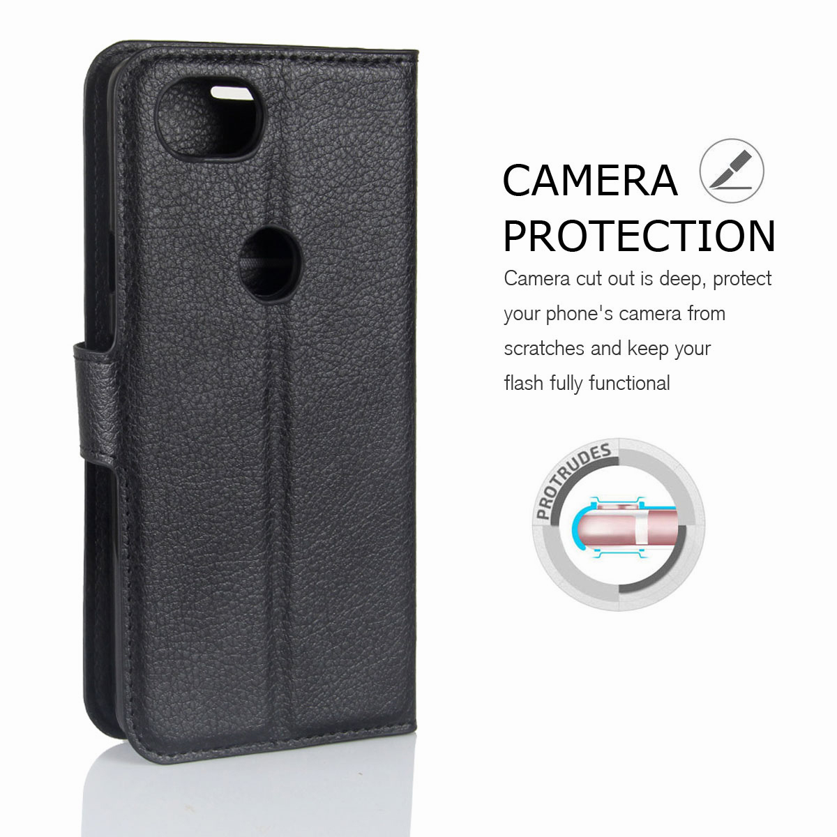 For-Google-Pixel-2-Pixel-XL-2XL-Business-Leather-Card-Holder-Wallet-Phone-Case thumbnail 17