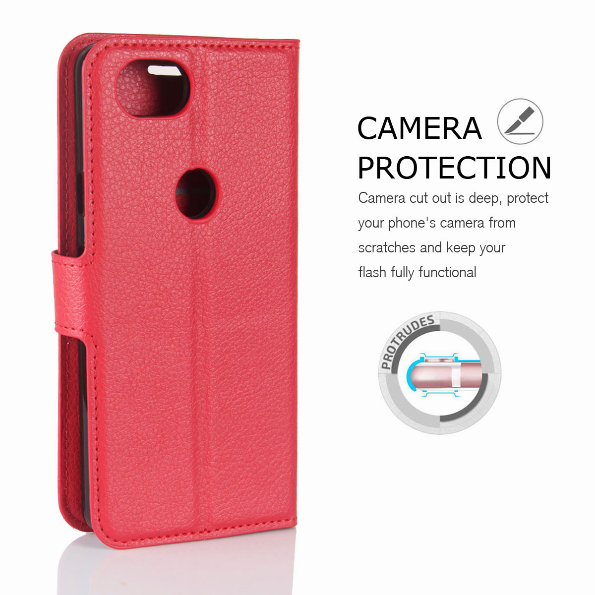 For-Google-Pixel-2-Pixel-XL-2XL-Business-Leather-Card-Holder-Wallet-Phone-Case thumbnail 29