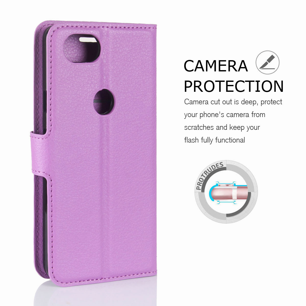 For-Google-Pixel-2-Pixel-XL-2XL-Business-Leather-Card-Holder-Wallet-Phone-Case thumbnail 47