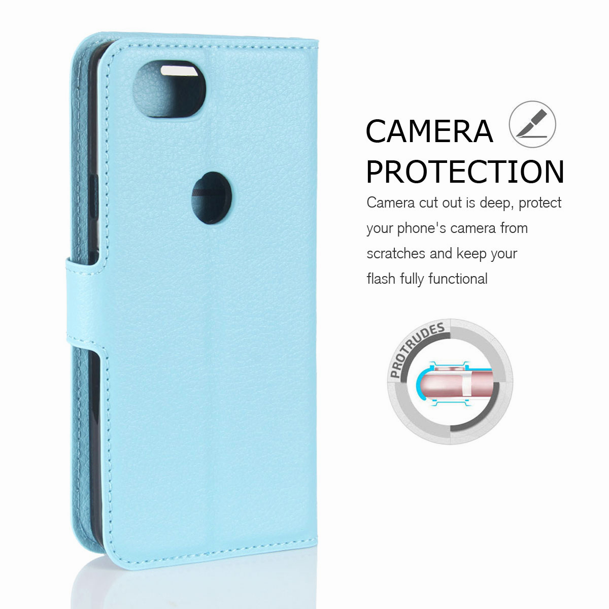 For-Google-Pixel-2-Pixel-XL-2XL-Business-Leather-Card-Holder-Wallet-Phone-Case thumbnail 59
