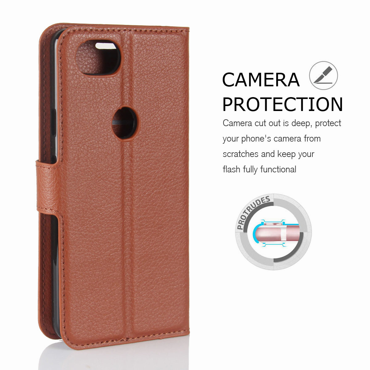 For-Google-Pixel-2-Pixel-XL-2XL-Business-Leather-Card-Holder-Wallet-Phone-Case thumbnail 65