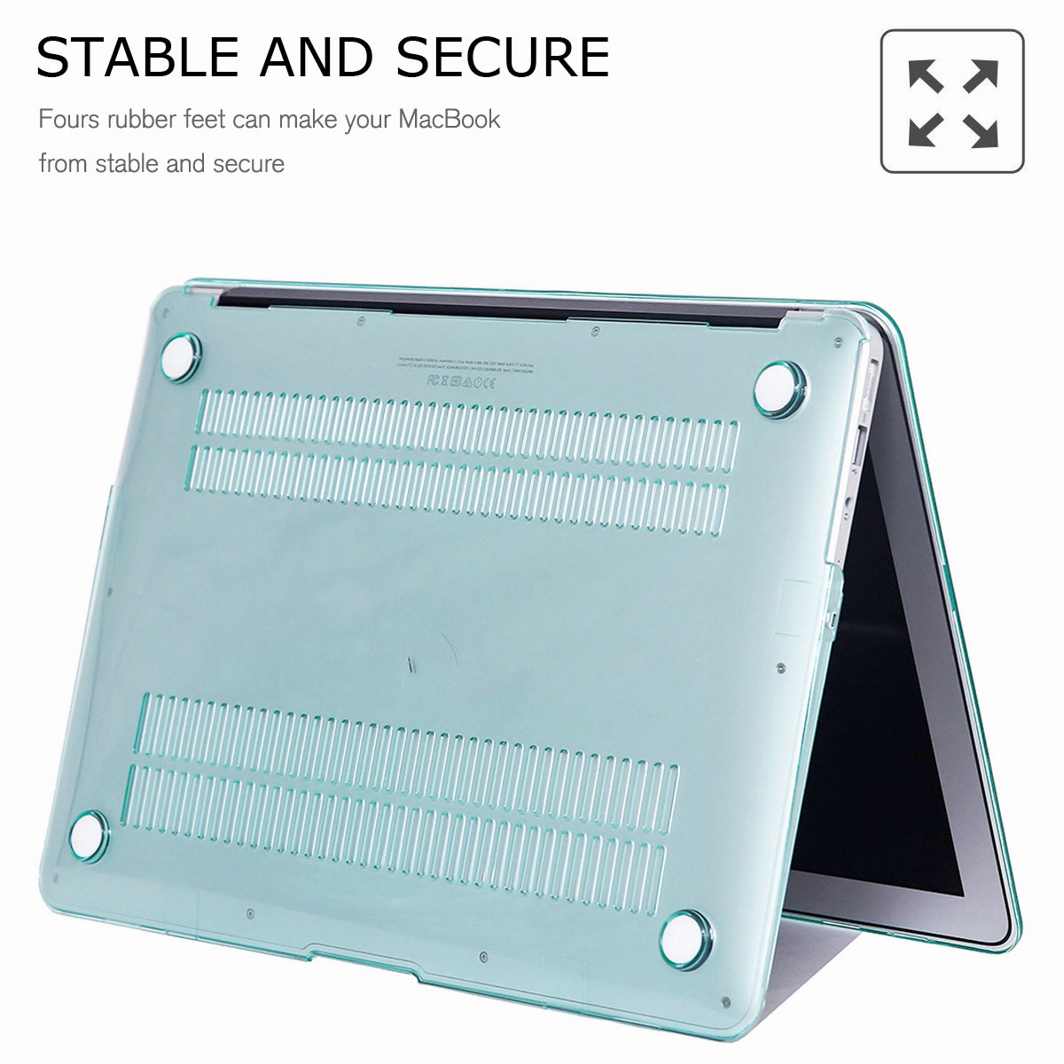 For-Macbook-Air-11-034-Air-13-inch-Rubberized-Hard-Case-Clear-Laptop-Keyboard-Shell thumbnail 24