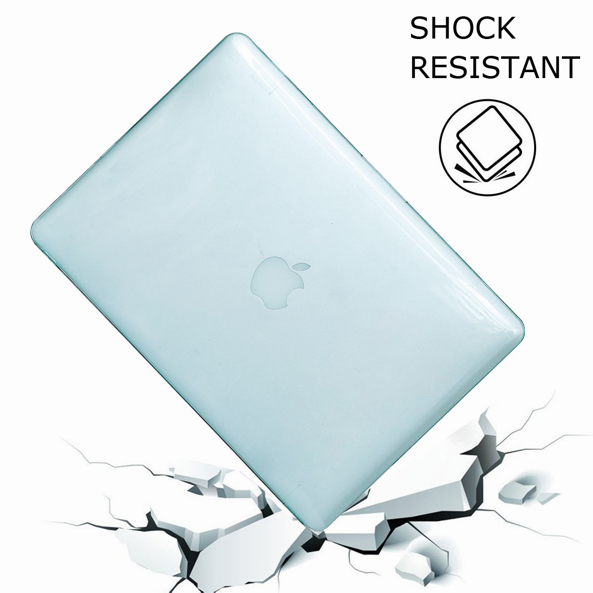 For-Macbook-Air-11-034-Air-13-inch-Rubberized-Hard-Case-Clear-Laptop-Keyboard-Shell thumbnail 26