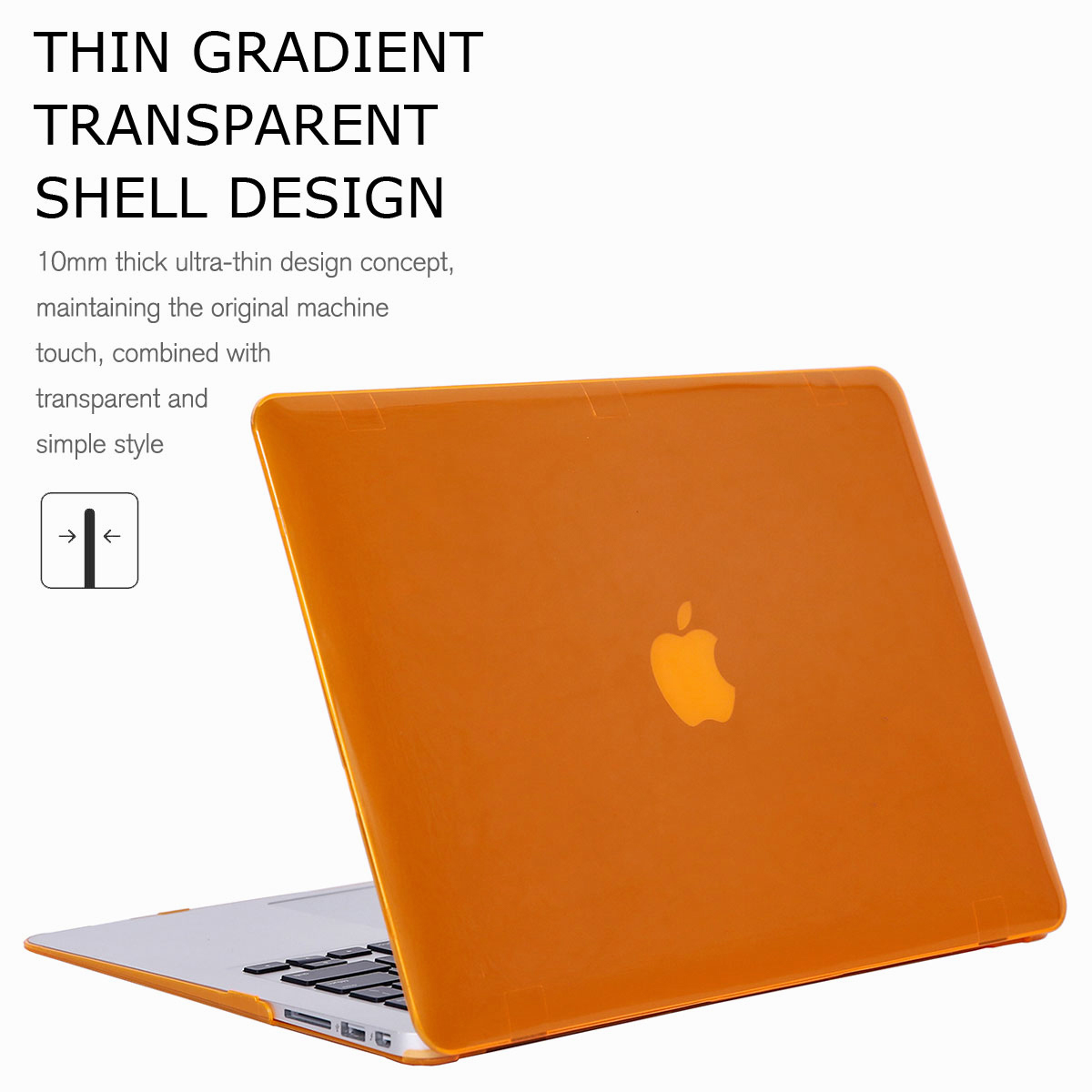 For-Macbook-Air-11-034-Air-13-inch-Rubberized-Hard-Case-Clear-Laptop-Keyboard-Shell thumbnail 37