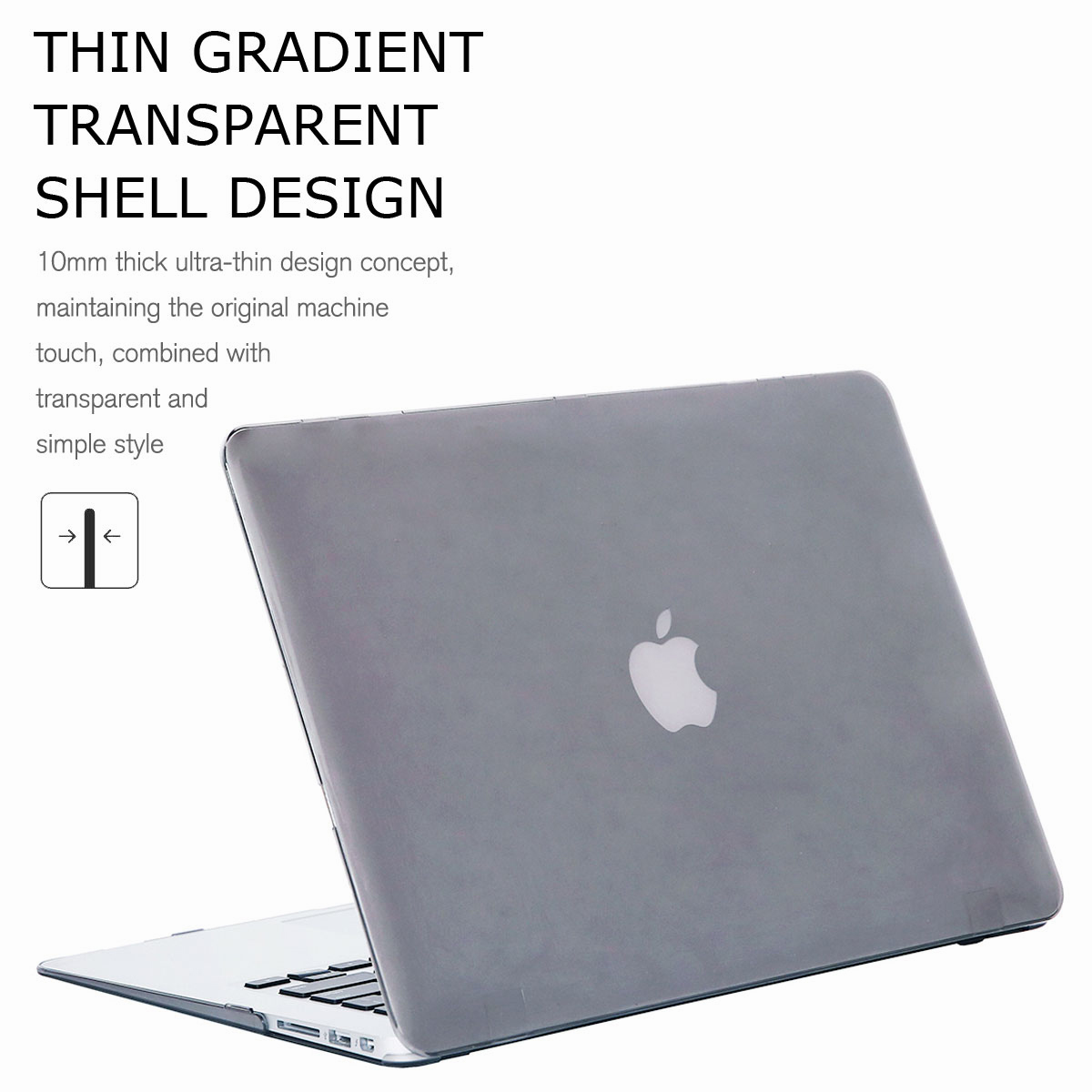 For-Macbook-Air-11-034-Air-13-inch-Rubberized-Hard-Case-Clear-Laptop-Keyboard-Shell thumbnail 65
