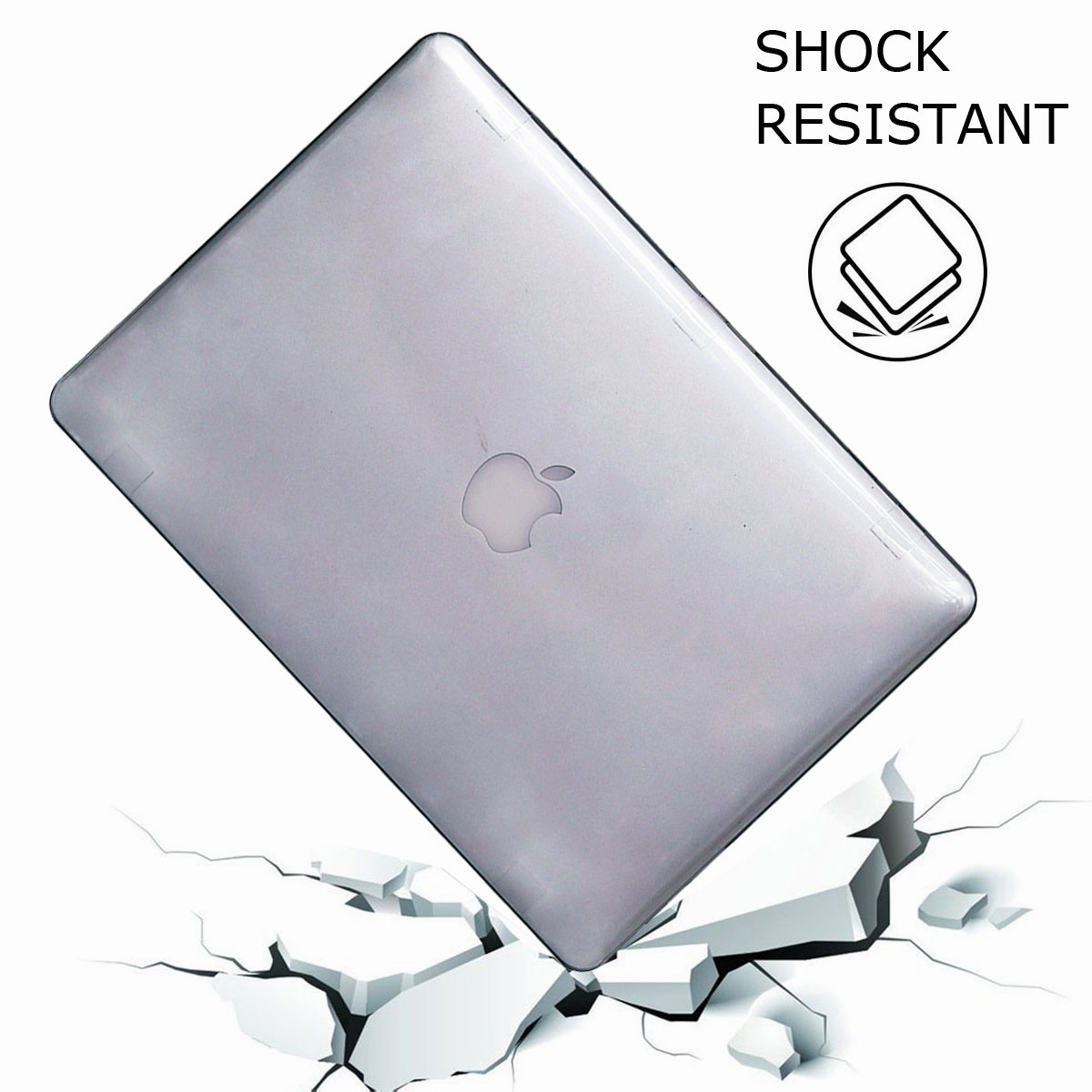 For-Macbook-Air-11-034-Air-13-inch-Rubberized-Hard-Case-Clear-Laptop-Keyboard-Shell thumbnail 68