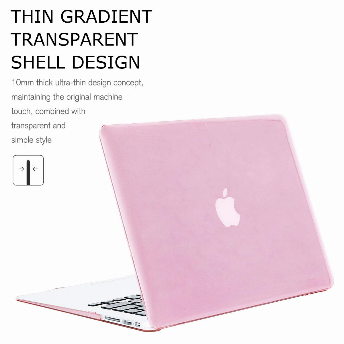 For-Macbook-Air-11-034-Air-13-inch-Rubberized-Hard-Case-Clear-Laptop-Keyboard-Shell thumbnail 72