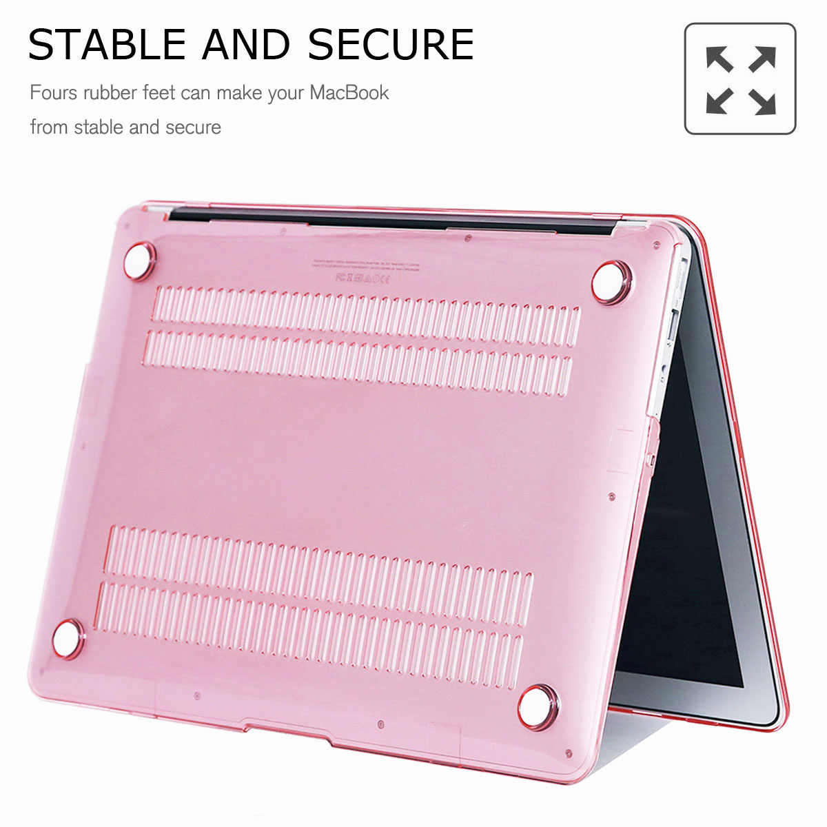 For-Macbook-Air-11-034-Air-13-inch-Rubberized-Hard-Case-Clear-Laptop-Keyboard-Shell thumbnail 73