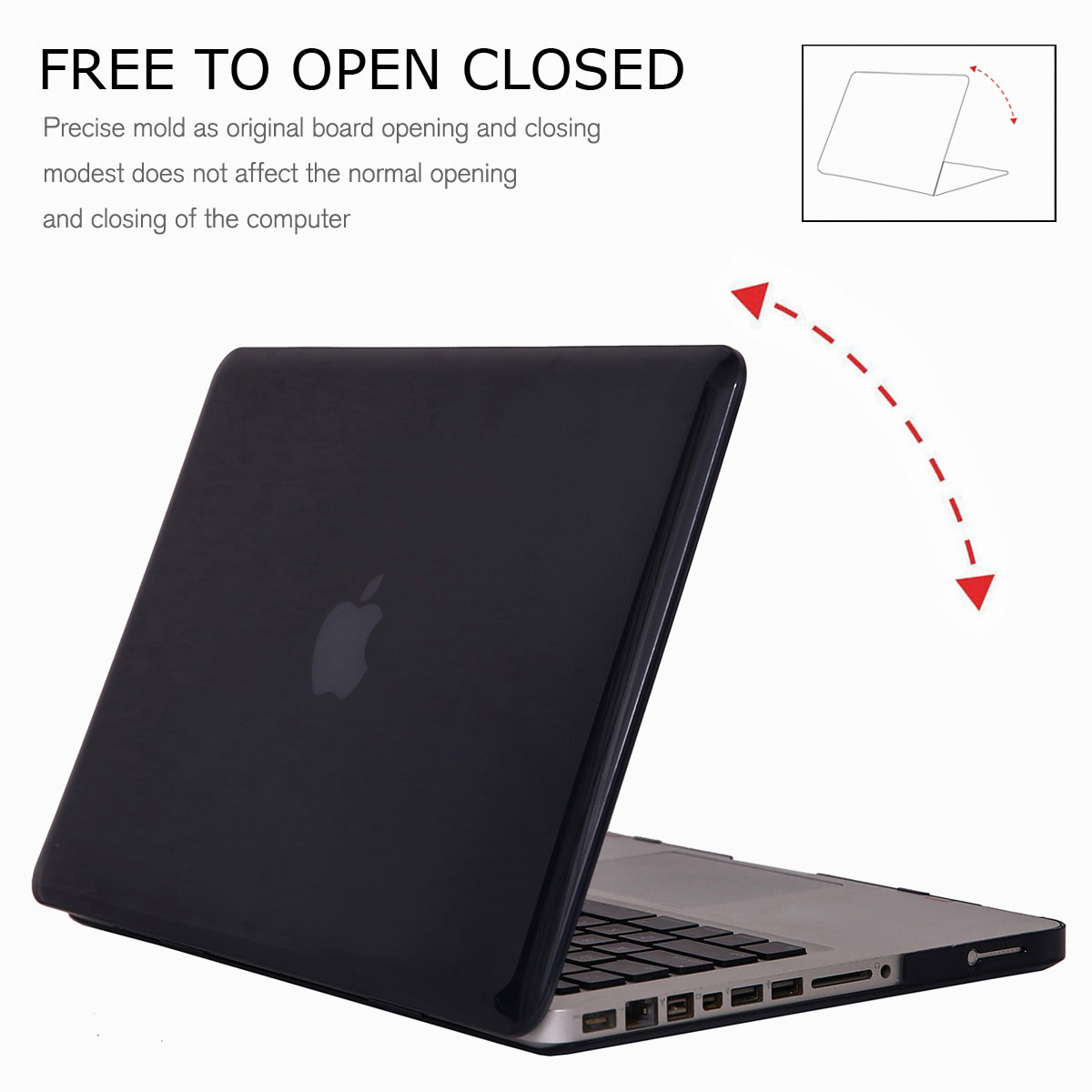 Hard-Rubberized-Laptop-Shell-Case-Keyboard-Cover-For-Apple-MacBook-Pro-13-034-15-034 thumbnail 14
