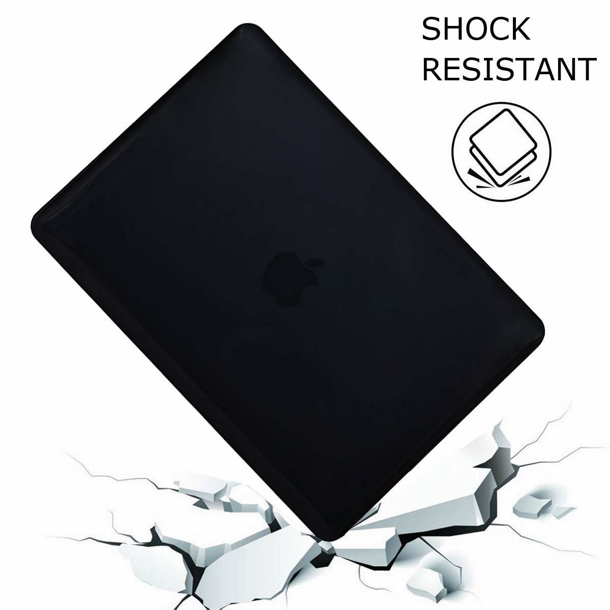 Hard-Rubberized-Laptop-Shell-Case-Keyboard-Cover-For-Apple-MacBook-Pro-13-034-15-034 thumbnail 19