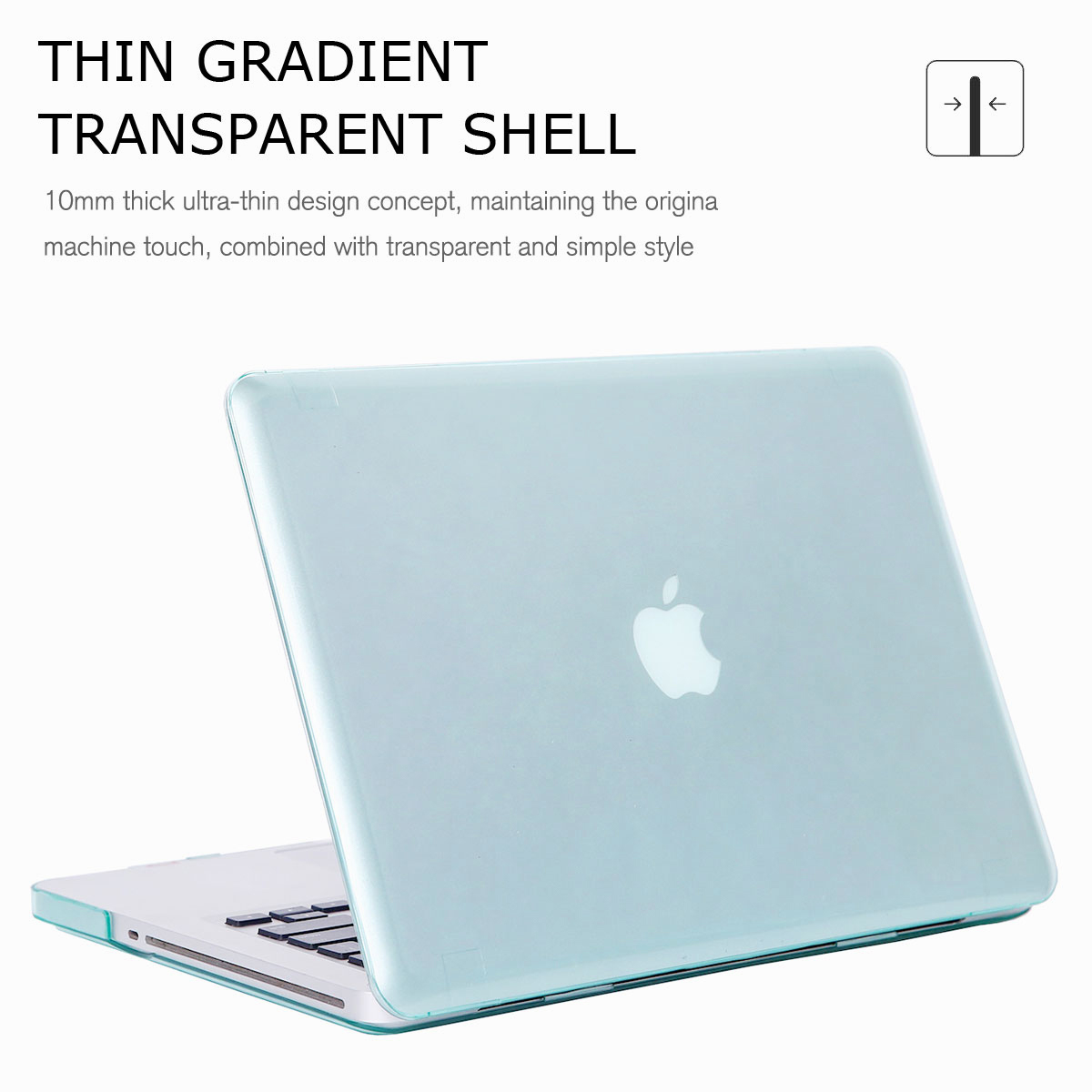 Hard-Rubberized-Laptop-Shell-Case-Keyboard-Cover-For-Apple-MacBook-Pro-13-034-15-034 thumbnail 23