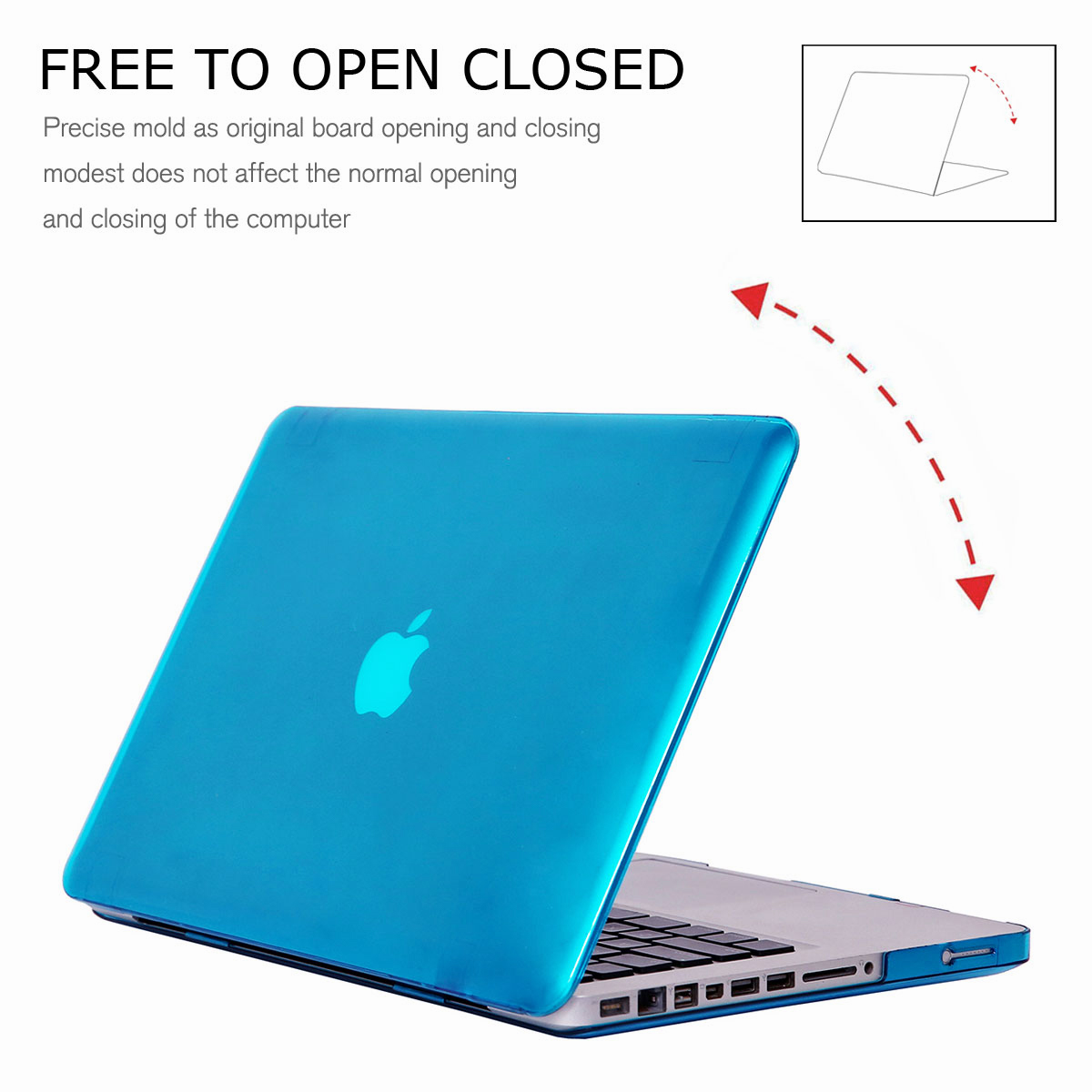 Rubberized-Hard-Case-Shell-For-Apple-Macbook-Pro-13-15-with-Keyboard-Cover-Skin thumbnail 28
