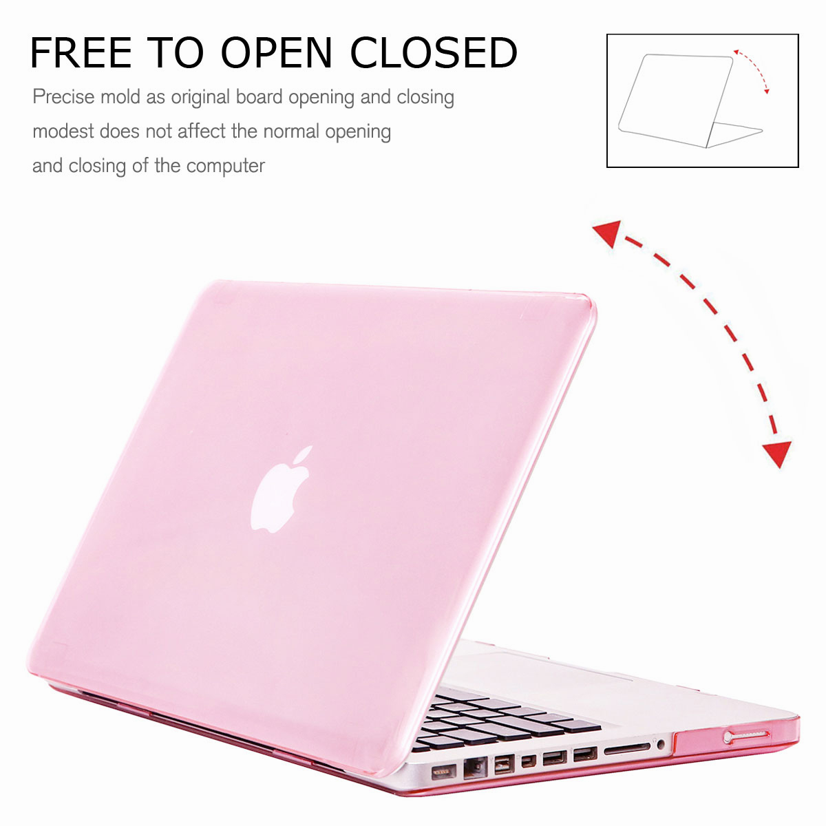 Hard-Rubberized-Laptop-Shell-Case-Keyboard-Cover-For-Apple-MacBook-Pro-13-034-15-034 thumbnail 70