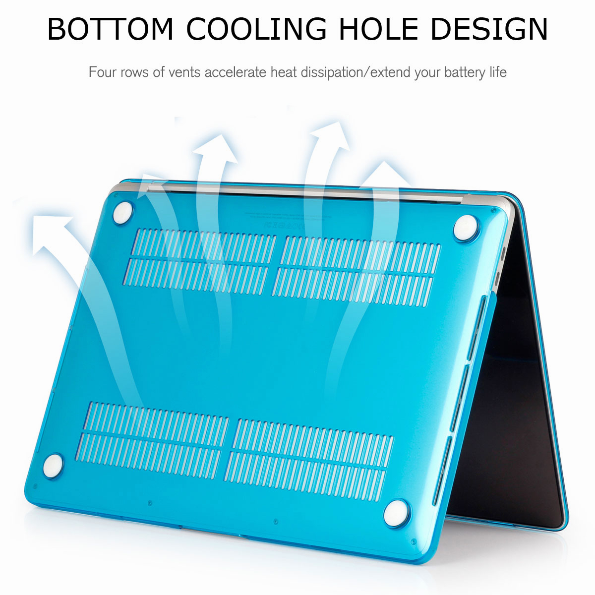 Hard-Rubberized-Shell-Case-Laptop-Keyboard-Cover-For-Macbook-Pro-Retina-13-034-15-034 thumbnail 29