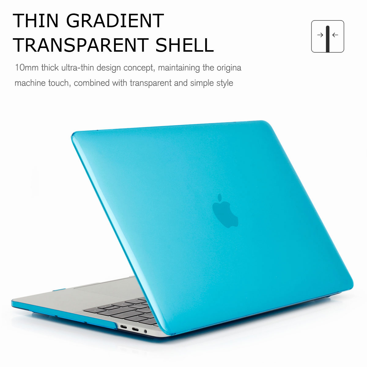 Hard-Rubberized-Shell-Case-Laptop-Keyboard-Cover-For-Macbook-Pro-Retina-13-034-15-034 thumbnail 30