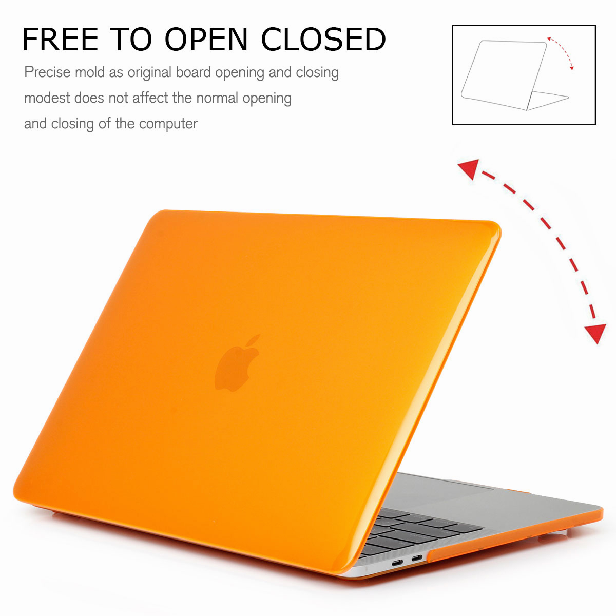 Hard-Rubberized-Shell-Case-Laptop-Keyboard-Cover-For-Macbook-Pro-Retina-13-034-15-034 thumbnail 35