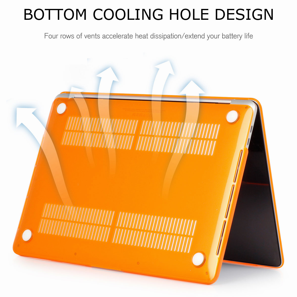 Hard-Rubberized-Shell-Case-Laptop-Keyboard-Cover-For-Macbook-Pro-Retina-13-034-15-034 thumbnail 36