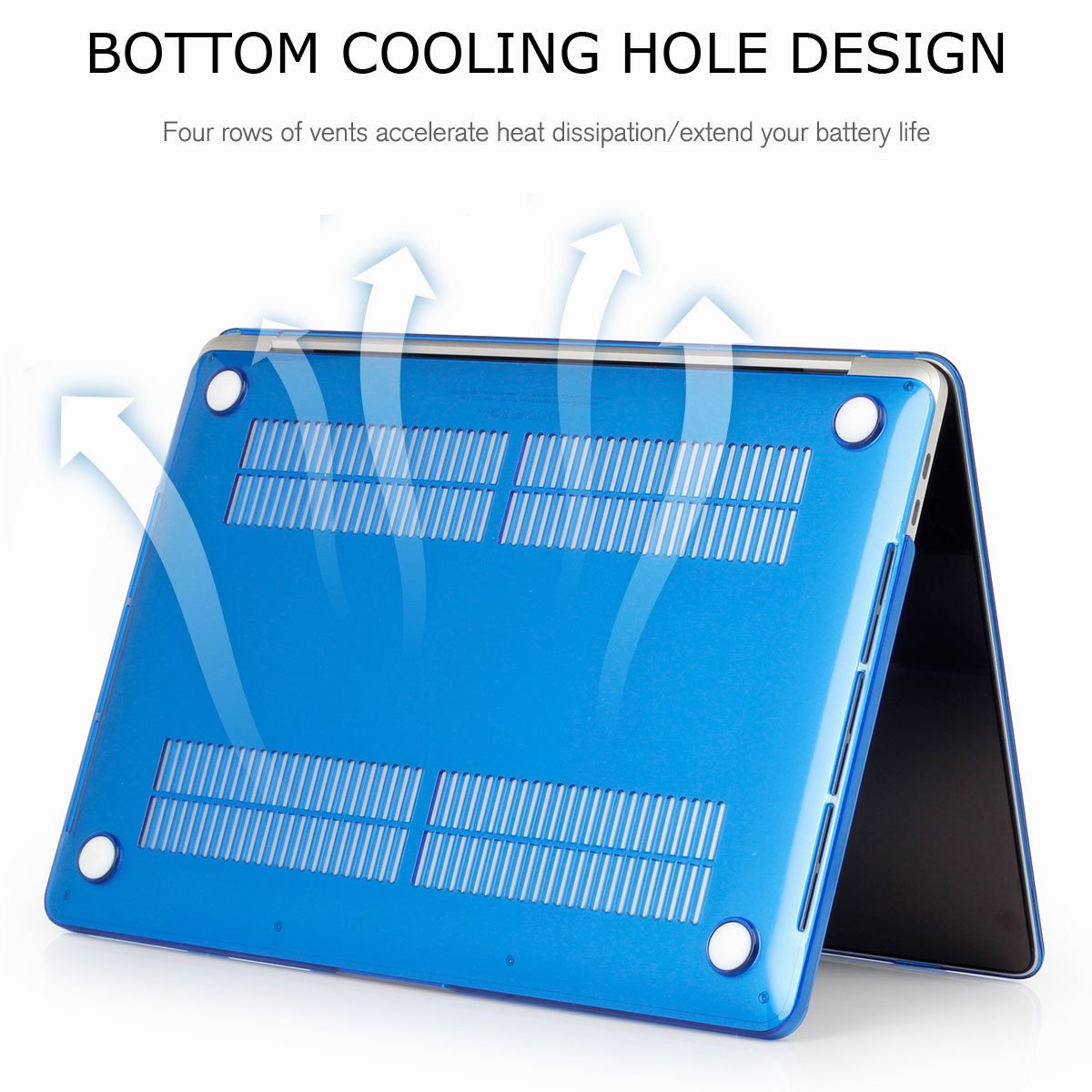Hard-Rubberized-Shell-Case-Laptop-Keyboard-Cover-For-Macbook-Pro-Retina-13-034-15-034 thumbnail 57