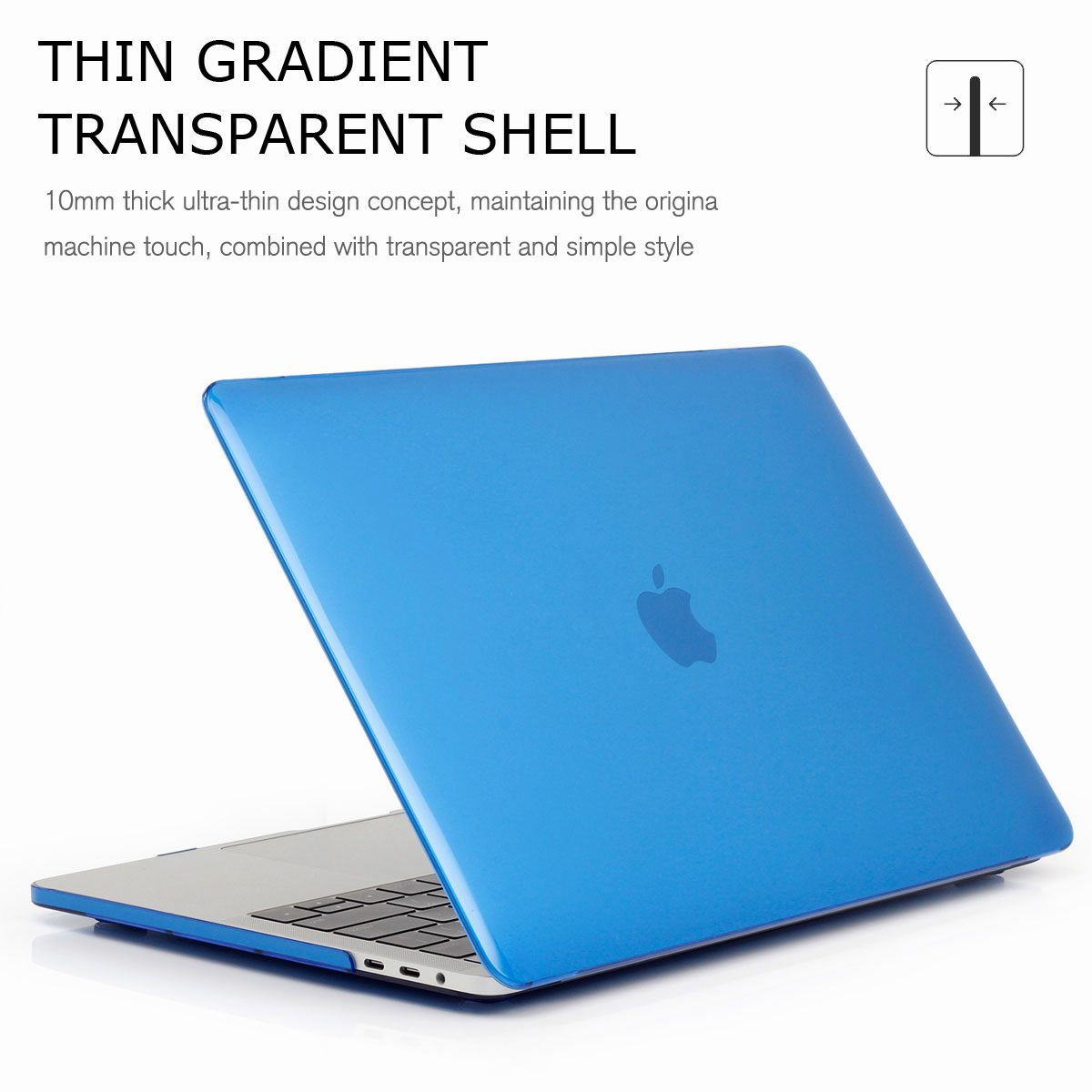 Hard-Rubberized-Shell-Case-Laptop-Keyboard-Cover-For-Macbook-Pro-Retina-13-034-15-034 thumbnail 58