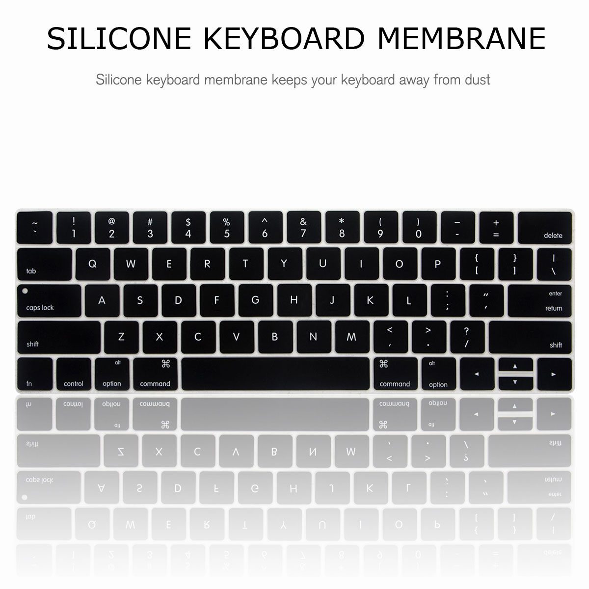 For-Macbook-Retina-12-034-13-034-15-034-Rubberized-Hard-Laptop-Case-Clear-Keyboard-Shell thumbnail 18