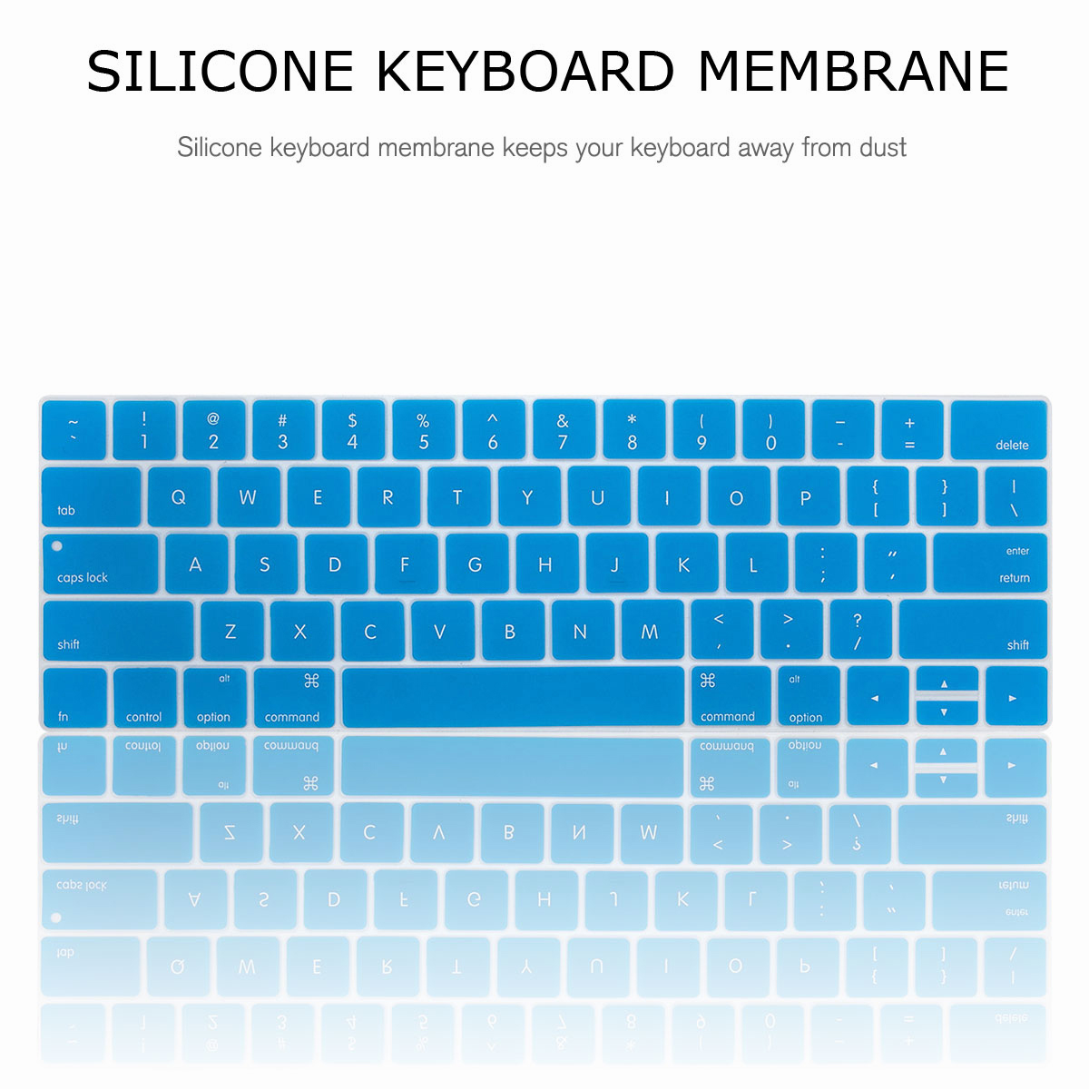 For-Macbook-Retina-12-034-13-034-15-034-Rubberized-Hard-Laptop-Case-Clear-Keyboard-Shell thumbnail 32