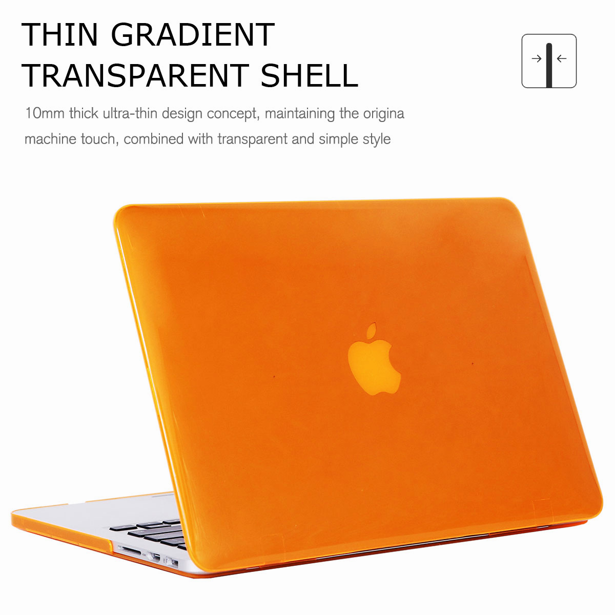 For-Macbook-Retina-12-034-13-034-15-034-Rubberized-Hard-Laptop-Case-Clear-Keyboard-Shell thumbnail 37