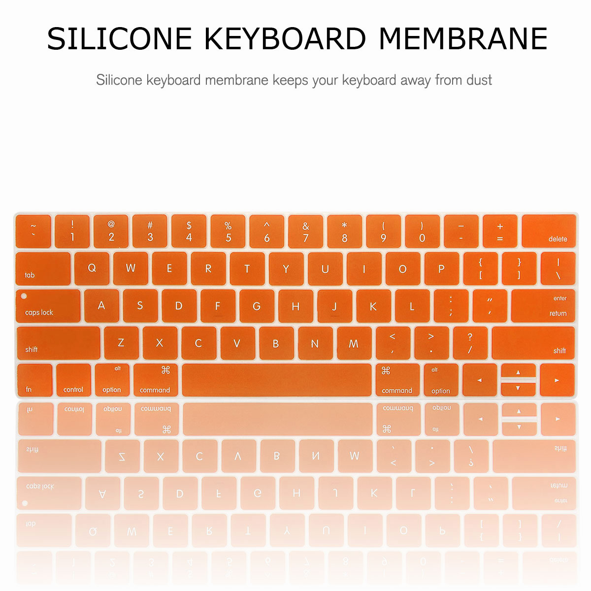 For-Macbook-Retina-12-034-13-034-15-034-Rubberized-Hard-Laptop-Case-Clear-Keyboard-Shell thumbnail 39