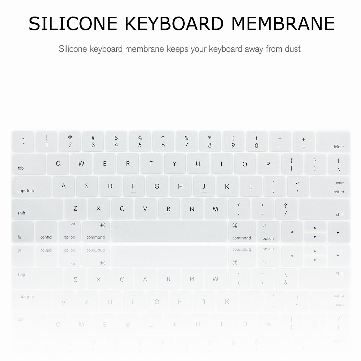 For-Macbook-Retina-12-034-13-034-15-034-Rubberized-Hard-Laptop-Case-Clear-Keyboard-Shell thumbnail 46
