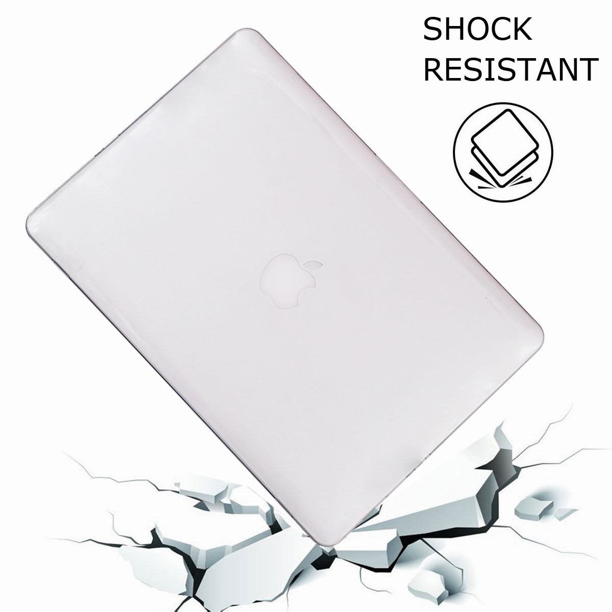 For-Macbook-Retina-12-034-13-034-15-034-Rubberized-Hard-Laptop-Case-Clear-Keyboard-Shell thumbnail 47