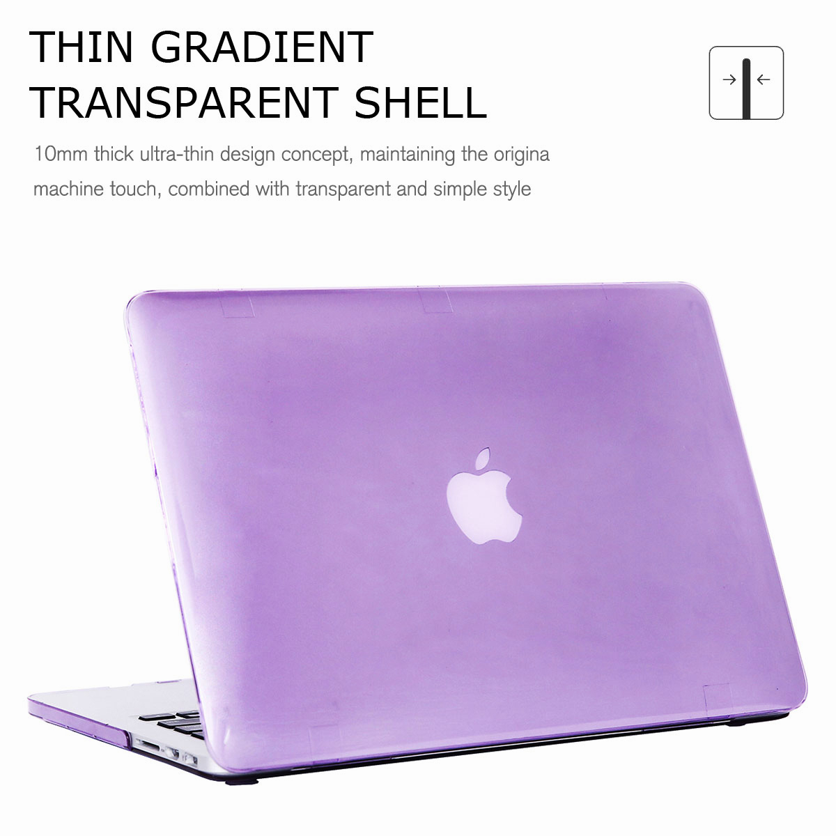 For-Macbook-Retina-12-034-13-034-15-034-Rubberized-Hard-Laptop-Case-Clear-Keyboard-Shell thumbnail 51