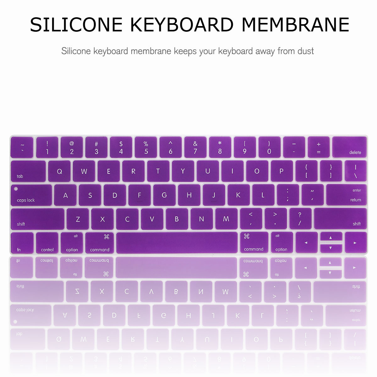 For-Macbook-Retina-12-034-13-034-15-034-Rubberized-Hard-Laptop-Case-Clear-Keyboard-Shell thumbnail 53