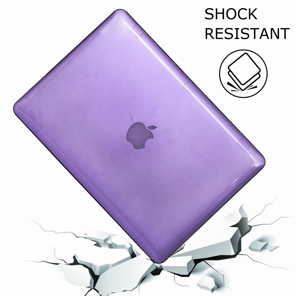 For-Macbook-Retina-12-034-13-034-15-034-Rubberized-Hard-Laptop-Case-Clear-Keyboard-Shell thumbnail 54