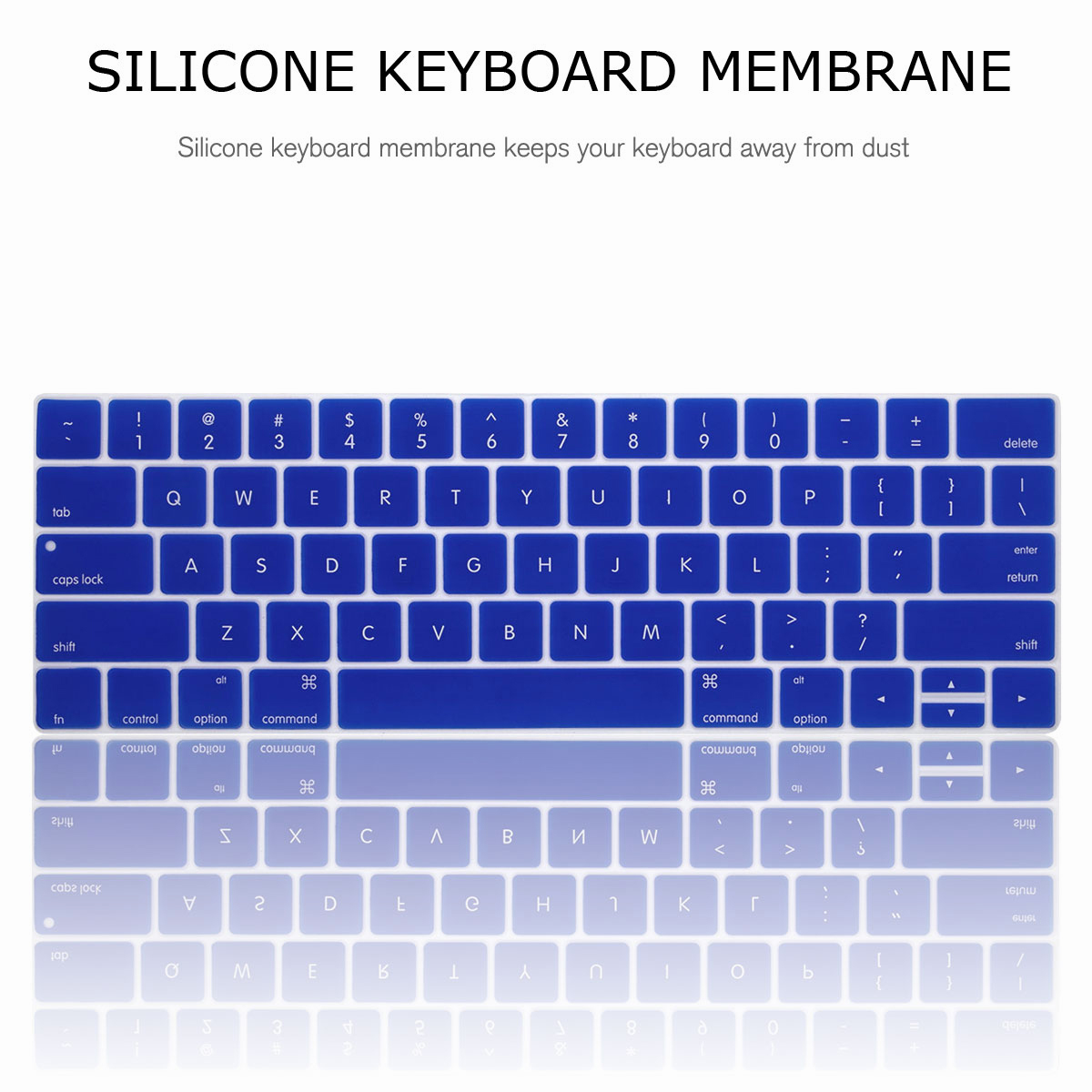 For-Macbook-Retina-12-034-13-034-15-034-Rubberized-Hard-Laptop-Case-Clear-Keyboard-Shell thumbnail 60