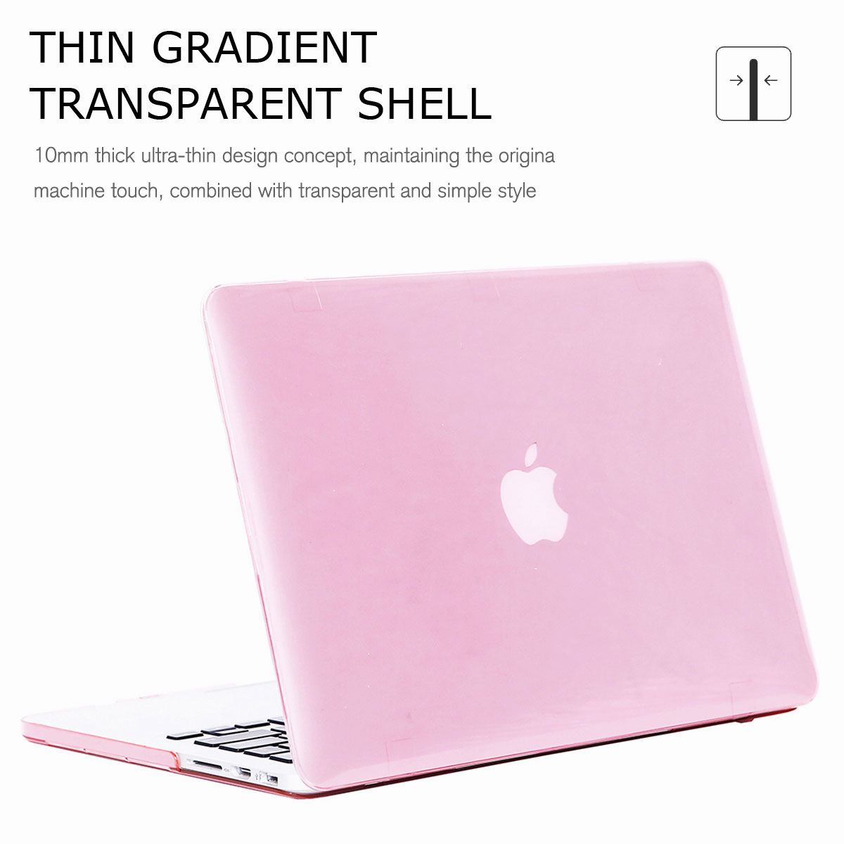 For-Macbook-Retina-12-034-13-034-15-034-Rubberized-Hard-Laptop-Case-Clear-Keyboard-Shell thumbnail 72