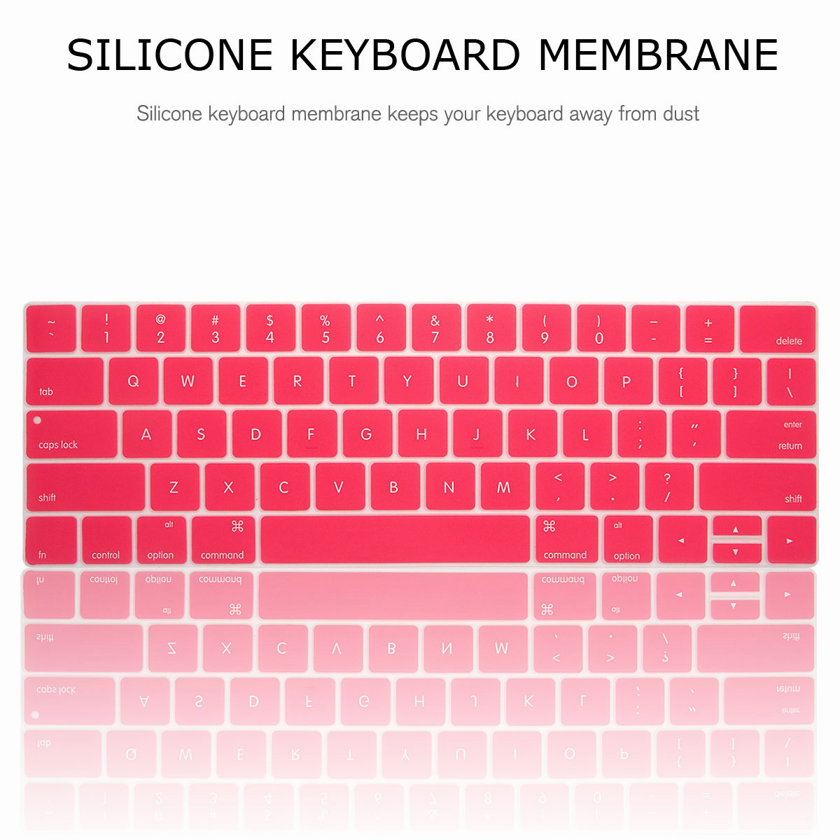 For-Macbook-Retina-12-034-13-034-15-034-Rubberized-Hard-Laptop-Case-Clear-Keyboard-Shell thumbnail 74