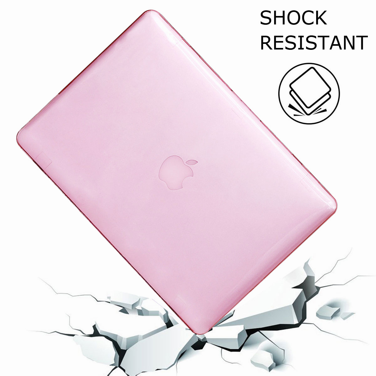 For-Macbook-Retina-12-034-13-034-15-034-Rubberized-Hard-Laptop-Case-Clear-Keyboard-Shell thumbnail 75